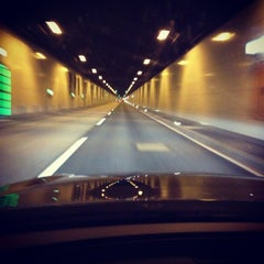 Photo taken at Elbtunnel by M W. on 2/21/2013