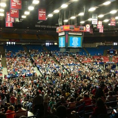 Photo taken at McKale Center by Pat G. on 5/10/2013