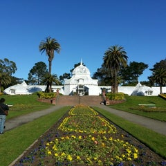 Photo taken at Golden Gate Park by Andres N. on 1/27/2013