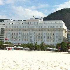 Photo taken at Belmond Copacabana Palace by Thiago A. on 4/7/2013
