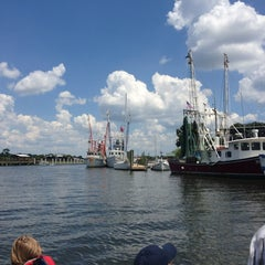 Photo taken at Shem Creek by Beckie R. on 8/12/2013
