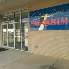 Photo taken at Power 88 FM by Zach R. on 4/16/2013