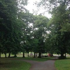 Photo taken at Hillsborough Park by Sebastian M. on 7/25/2013