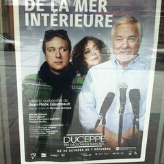 Photo taken at Théâtre Jean Duceppe by Betty E. on 11/15/2013