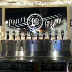 Photo taken at Prost Brewing by Erin W. on 12/10/2012