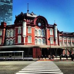 Photo taken at 東京駅 (Tokyo Sta.) by Marina Z. on 4/22/2013