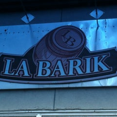Photo taken at La Barik by Pierre-Michel M. on 5/12/2013