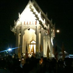 Photo taken at วัดชลประทานรังสฤษฎ์ (Wat Chonprathan Rangsarit) by Pariphat T. on 2/25/2013