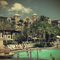 Photo taken at Hard Rock Hotel Beach Pool by Iryna A. on 4/24/2013