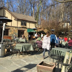Photo taken at Old Angler's Inn by Jessica P. on 3/1/2016