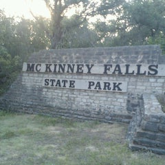 Photo taken at McKinney Falls State Park by Karri S. on 7/4/2013