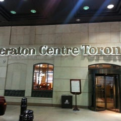 Photo taken at Sheraton Centre Toronto Hotel by T C. on 7/14/2013