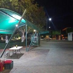 Photo taken at Jardín Niños Héroes by Emmanuel D. on 1/15/2016