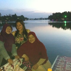 Photo taken at Setu Babakan by Chelsea M. on 8/9/2014