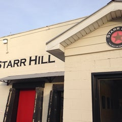 Photo taken at Starr Hill Brewery by Adam H. on 12/28/2013