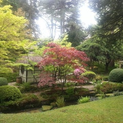 Photo taken at Tatton Park Japanese Garden by Sofia V. on 5/4/2014