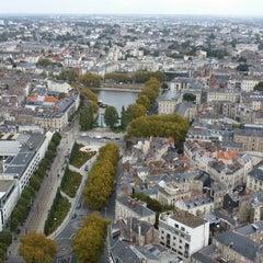 Photo taken at Tour Bretagne by Nadire D. on 10/9/2014