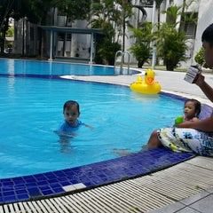 Photo taken at Swimming Pool Fawina Court Condominium by Iskandar M. on 2/27/2015