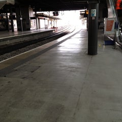 Photo taken at Platform 8 by Kevin B. on 4/20/2012