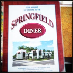 Photo taken at Springfield Diner by Eric K. on 3/18/2012