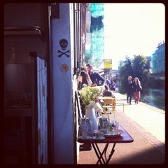 Photo taken at Towpath Cafe by Intelligensius A. on 10/14/2012