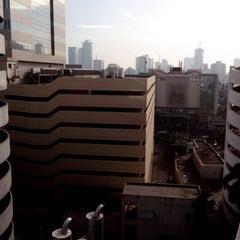 Photo taken at Permata Bank Tower Sudirman by Luk M. on 12/20/2012