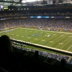 Photo taken at Ford Field by David J. on 12/2/2012