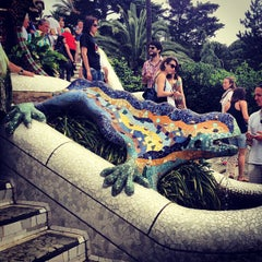 Photo taken at Park Güell by András V. on 6/18/2013