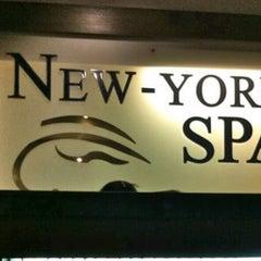 Photo taken at New York Spa by Rey D. on 5/22/2014