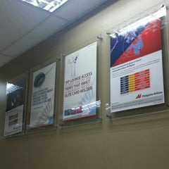 Photo taken at Philippine Airlines Head Office by Rey D. on 10/26/2015