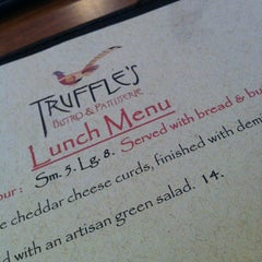Photo taken at Truffles Bistro by val1a on 9/16/2013