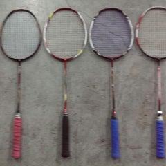 Photo taken at CC Badminton Court by THANAWUT C. on 11/2/2013