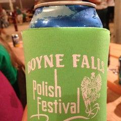 Photo taken at Boyne Falls Polish Festival by Amy L on 8/4/2013