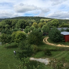 Photo taken at Great Country Farms by Melanie B. on 9/14/2014