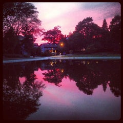 Photo taken at Wilcox Park by Bagoly💀 on 8/18/2013