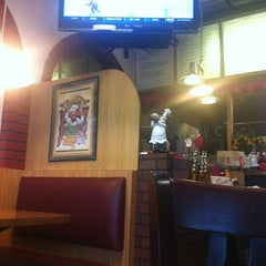 Photo taken at The Valley Pizza Restaurant by Rebecca M. on 2/13/2013