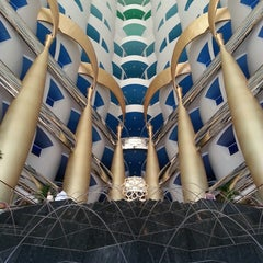 Photo taken at Burj Al Arab by Kevin M. on 10/26/2013