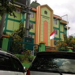 Photo taken at SMA Muhammadiyah 2 Surabaya by guruh R. on 3/9/2013