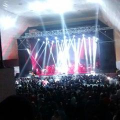 Photo taken at Centro de Convenciones María Angola by Kelly P. on 10/23/2015