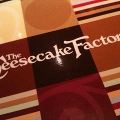 Photo taken at The Cheesecake Factory by Sandra P. on 3/20/2012
