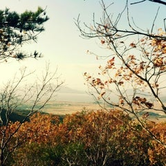 Photo taken at 마니산 등산로(계단로) by Bomi K. on 10/28/2012