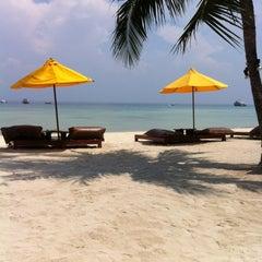 Photo taken at Zeavola Resort by Olivier M. on 2/18/2012