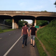 Photo taken at The Midtown Greenway by Elizabeth S. on 7/19/2014