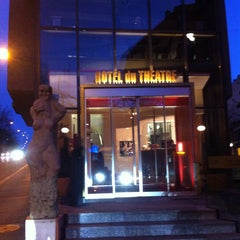 Photo taken at Hotel Du Theatre by Lhee T. on 4/5/2015
