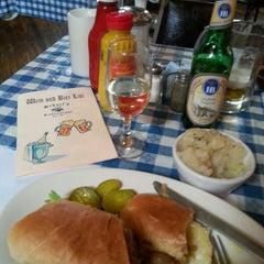 Photo taken at Scharfs German Restaurant und Bar by Astoriawinediva on 4/25/2014