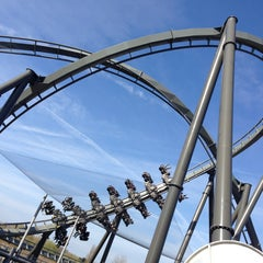 Photo taken at Thorpe Park by Chris B. on 4/21/2013