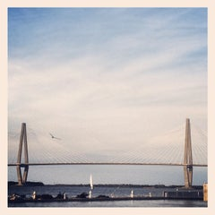 Photo taken at Charleston Harbor Resort & Marina by Jeni B. on 10/14/2012