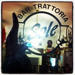 Photo taken at Bar Trattoria Sole by Marios G. on 1/22/2013