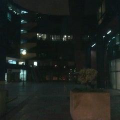 Photo taken at Telefónica del Perú (Torre Azul) by Ernesto N. on 9/29/2012