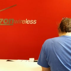 Photo taken at Verizon by jennifer d. on 7/12/2014